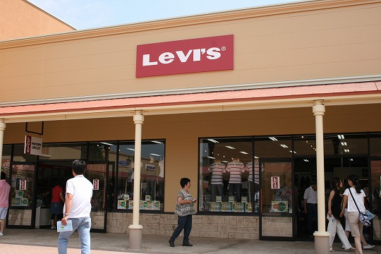 リーバイス(Levi's)那須ガーデンアウトレット店