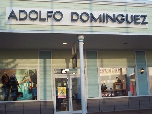 アドルフォ・ドミンゲス(ADOLFO DOMINGUEZ) 千歳アウトレットモール・レラ