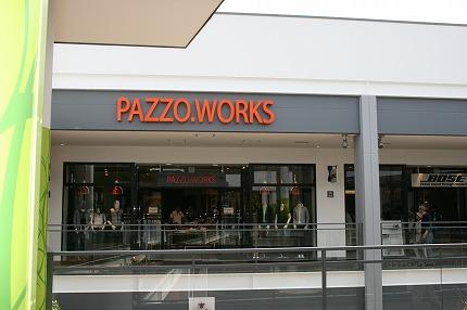 パッゾワークス(PAZZO.WORKS) 三井アウトレットパーク入間