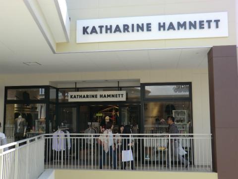 キャサリンハムネット (KATHARINE HAMNETT)  三井アウトレットパーク 倉敷店