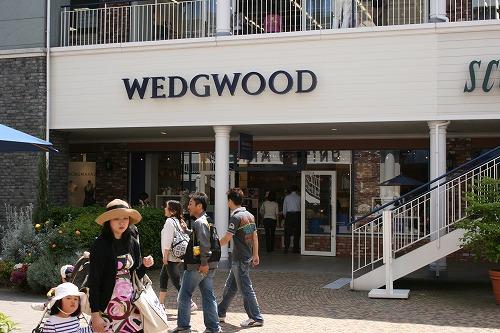 ウェッジウッド (WEDGWOOD)  りんくうプレミアムアウトレット 写真
