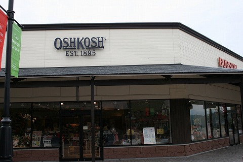オシュコシュ・ビゴッシュ(OshKosh B'Gosh)土岐プレミアムアウトレット